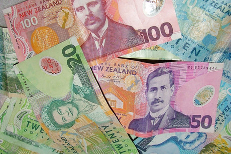 The New Zealand dollar fell to 81.19 US cents just before 8am