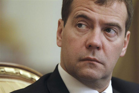 Dmitry Medvedev (Reuters)