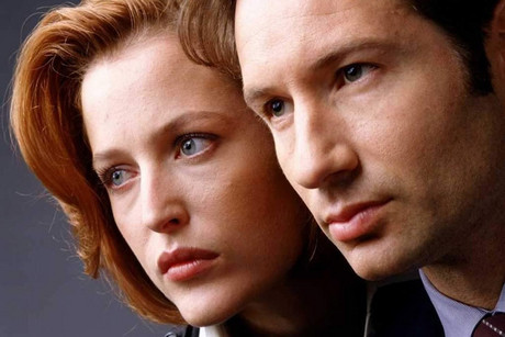 X-Files stars David Duchovny and Gillian Anderson