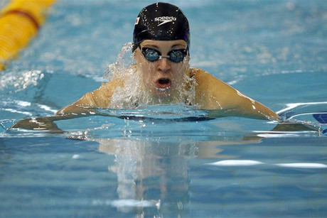 Swimmer Fanny Lecluyse is one of the Belgium Olympic team's members to be sent home (Reuters file)