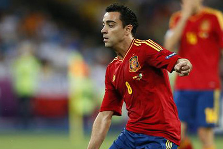Xavi is one of the players who will miss Spain's exhibition match (Reuters)