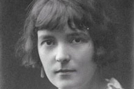New Zealand author Katherine Mansfield