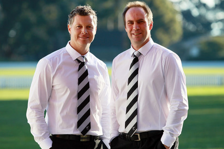 Paul Wiseman and Matt Horne, co-coaches (Photosport file)