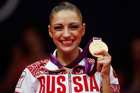Evgeniya Kanaeva (Reuters)