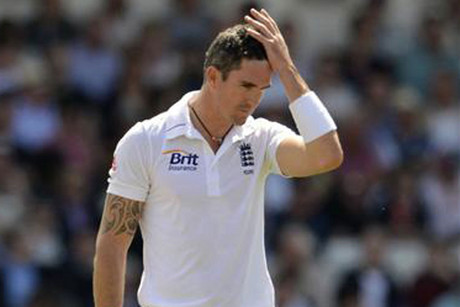 Kevin Pietersen was left out of England's squad for the third test against South Africa (Reuters)