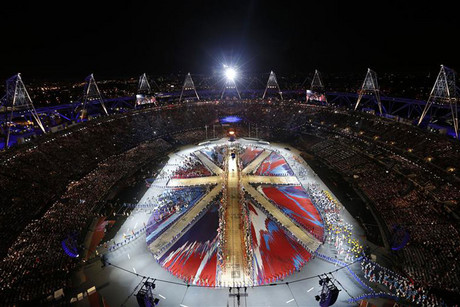 The Olympic closing ceremony is curring taking place (Reuters)