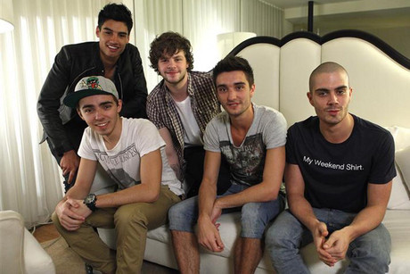 British boy band The Wanted  (Reuters)