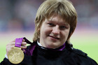 Nadzeya Ostapchuk of Belarus was stripped of her gold medal after testing positive to the anabolic agent metenolone (Reuters)