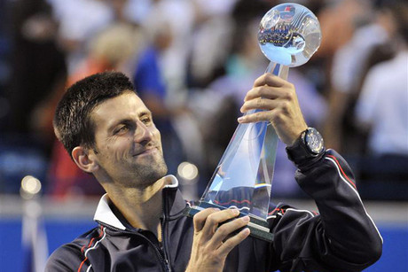 Top seed Novak Djokovic won in emphatic fashion (Reuters)
