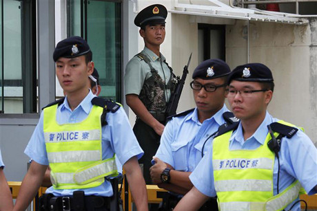 Chinese police are hunting a fugitive (file, Reuters)