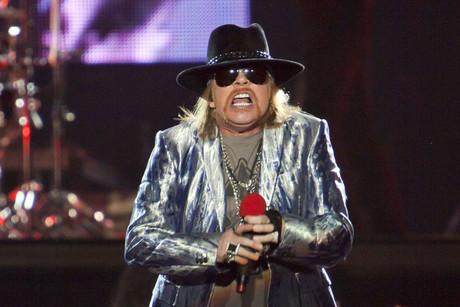 Guns N' Roses' Axl Rose (AAP)