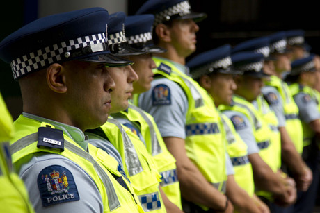 Police won't get a pay rise this year (file pic: Jared Mason)