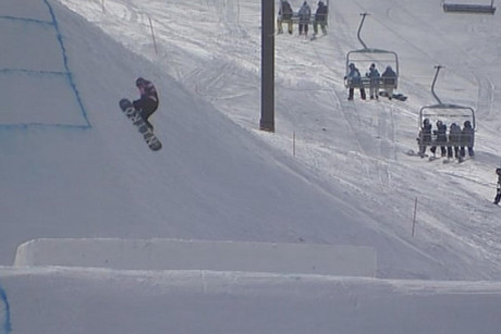 The boarders have hit Wanaka's Snow Park this week