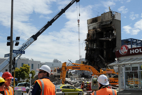 115 people were killed when te CTV building collapsed in the 2011 Christchurch earthquakes (AAP)
