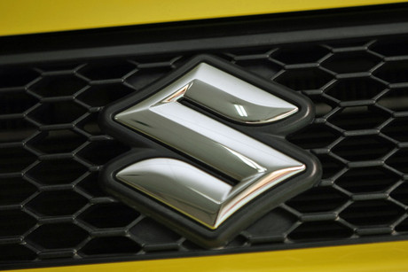 The Suzuki badge (Reuters)