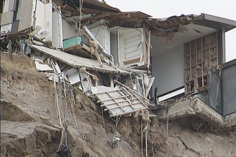 Around 1500 properties in the Port Hills were affected by the Christchurch earthquakes