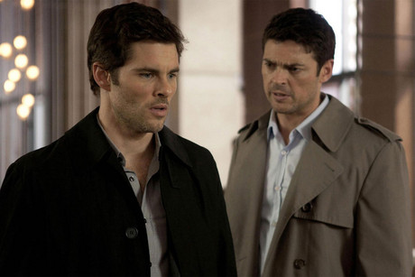 James Marsden and Karl Urban in Loft