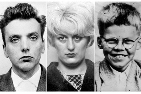 Ian Brady, Myra Hindley and their victim, Keith Bennett