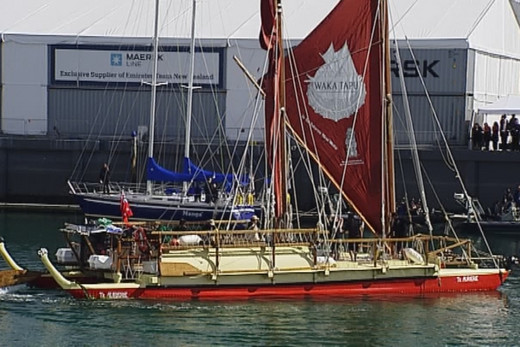 Waka Tapu sets out for 18,500km voyage