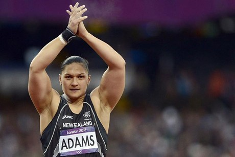 Olympic gold medalist Valerie Adams