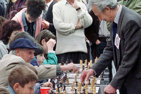 Serbia's Chess Federation says Gligoric died on Tuesday and was buried in the Serbian capital on Friday (Reuters)