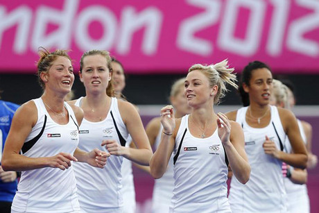 New Zealand's Krystal Forgesson, Samantha Charlton, Anita Punt and Gemma Flynn (Reuters)