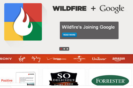 Announcement on the Wildfire website