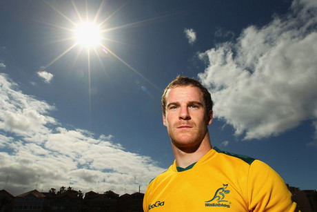 Wallaby Pat McCabe (file pic)