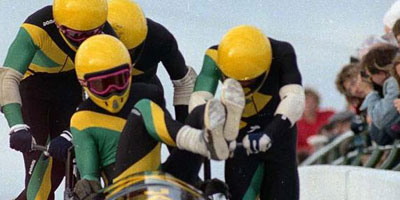 The Jamaican bobsled team powering towards another epic defeat