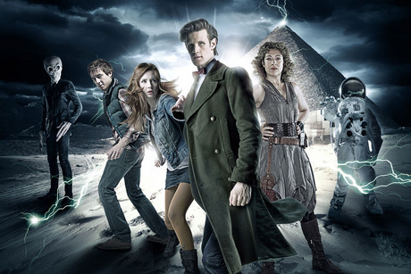 Promotional poster for Doctor Who
