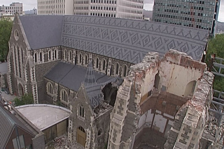 There will be no last minute reprieve for the Christchurch cathedral (file)