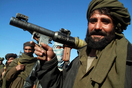 A Taliban militant (file: Reuters)