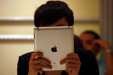 Apple hasn't said anything about a new iPhone or iPad (Reuters)