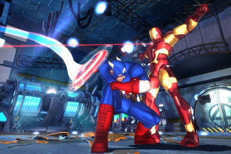 Still from Marvel Avengers: Battle for Earth