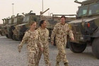 Sixteen percent of our Defence Force is women
