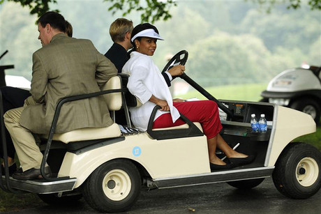 Former US secretary of state Condoleezza Rice is one of two women who have been admitted to the Augusta National Golf Club (Reuters)