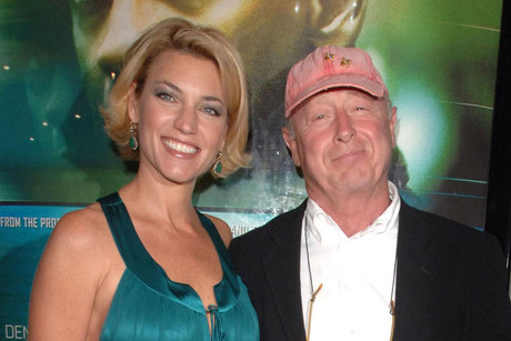 Tony Scott with his wife Donna (AAP)