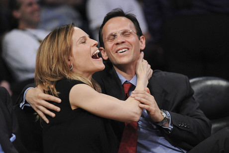 Hilary Swank and John Campisi (AAP)