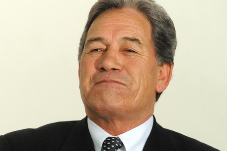 NZ First Party leader Winston Peters had to stay out for the rest of question time, about 90 minutes, and lost his chance to ask further questions (file pic)