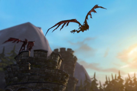 Screenshot from Fable: The Journey