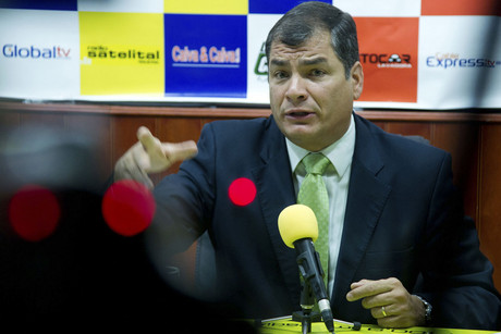 Ecuador's President Rafael Correa (Reuters/Guillermo Granja)