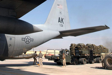 Bagram airbase (Reuters file)