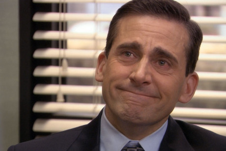 Steve Carell as Michael Scott in The Office