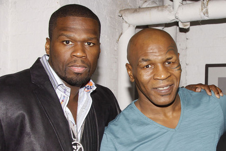 50 Cent and Mike Tyson together in July 2012 (WENN.com)