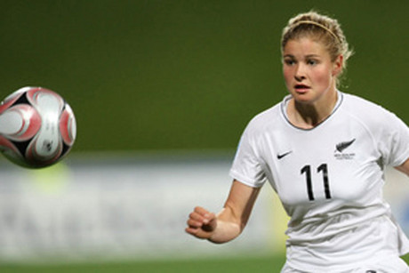 Rosie White scored New Zealand's second goal (file pic)