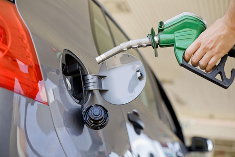 91-octane fuel is just under $2.23 a litre (file)
