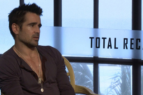 Total Recall star Colin Farrell