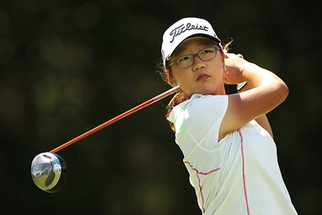 New Zealand golfer Lydia Ko (file pic)