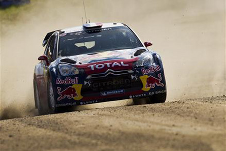Eight-time world champion Sebastien Loeb (file pic)