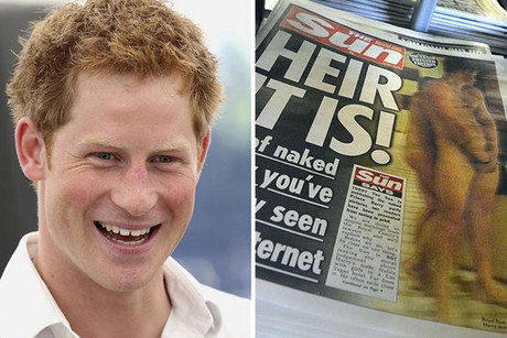 The Sun ran the photos last week in defiance of royal requests  (Reuters)